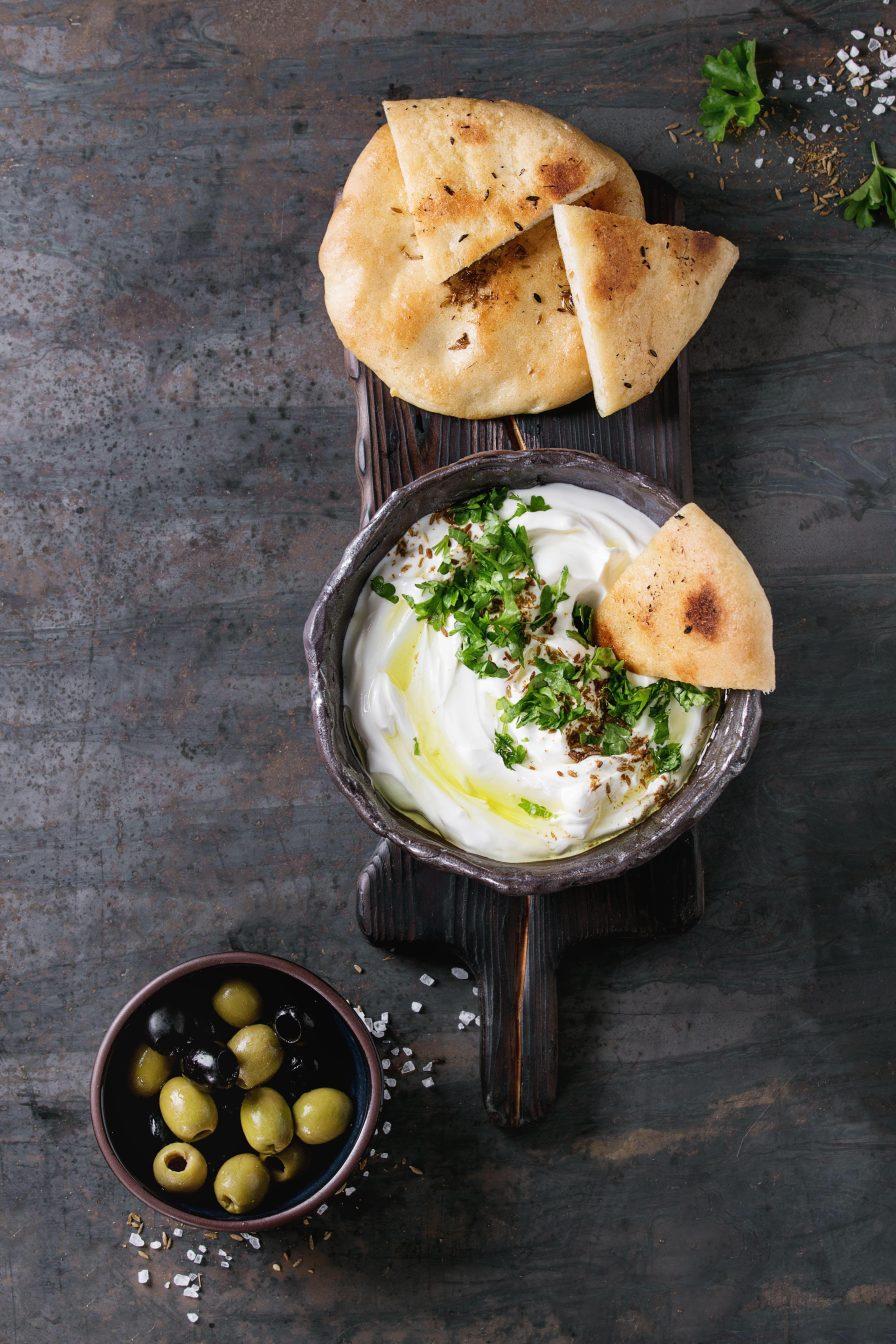 Labneh (Yogurt Cheese) the Cream Cheese of Arab Cuisine