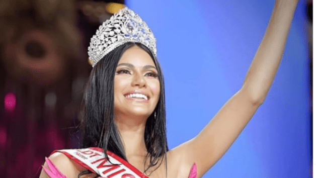 New Miss Philippines Gazini Ganados Thanks Arab Father for Beautiful Palestinian Genes