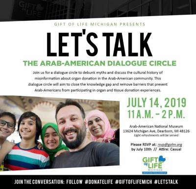 Let's Talk Arab-American Dialogue Circle
