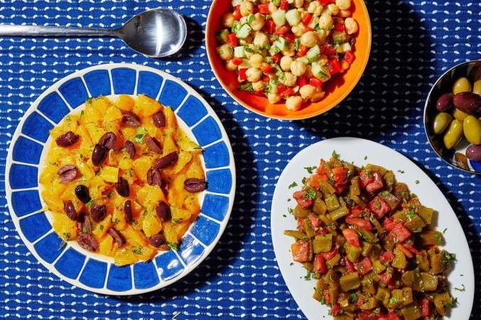 With These Moroccan Salads, Produce Comes First — and in Dazzling Abundance