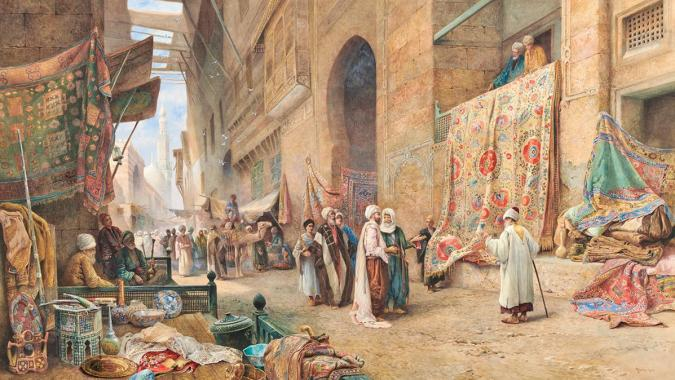 Impressions of Arabia: How Orientalist Art is Making Its Way Back to the World It Came from