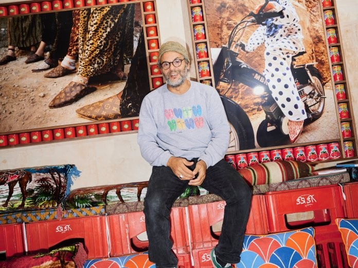 Hassan Hajjaj Turns Moroccan Clichés Into London Cool