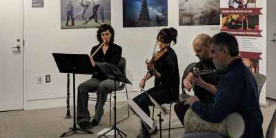 Noonday Concert Series: Zapion (Middle Eastern Ensemble)