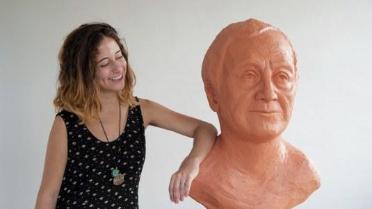 Leila Khoury and the Sculpture of Nizar Qabbani