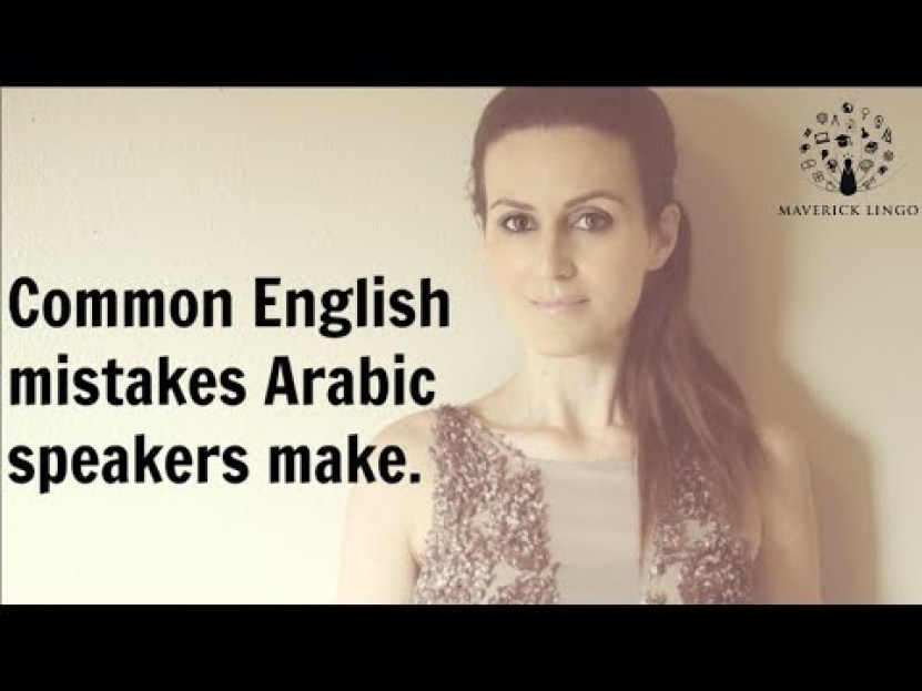 Common Tricky English Language Mistakes Arab Americans Tend to Make