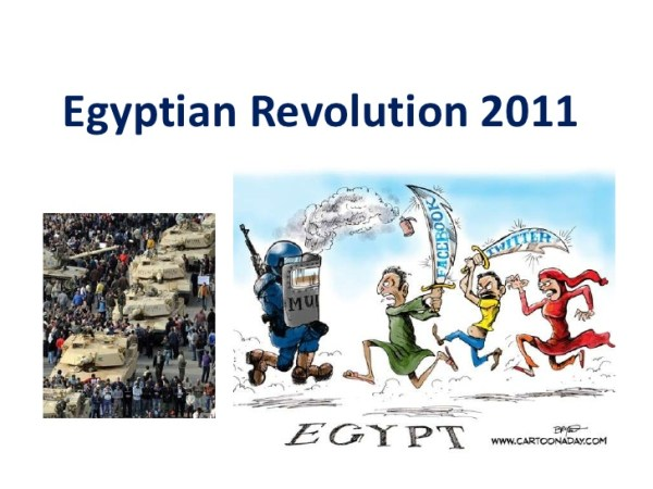 Mubarak's Death Commemorates January 25th Revolution