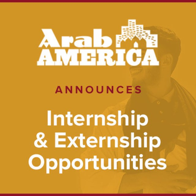 Arab America Announces Spring 2021 Internship/Externship Opportunities