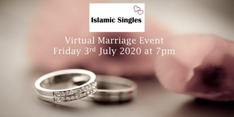 Single Muslim Professionals Online Virtual Marriage Networking Event