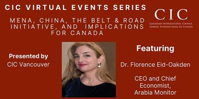 CIC Vancouver: MENA and China under Belt & Road Initiative