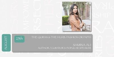DIALOGUES ON THE ART OF ARAB FASHION - THE QUR'AN & THE HIJAB