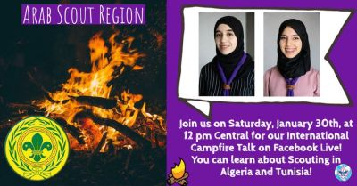 Arab Scout Region - International Campfire Talks