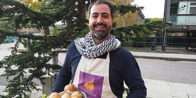 Vegetarian Lebanese cookery class with Ahmed
