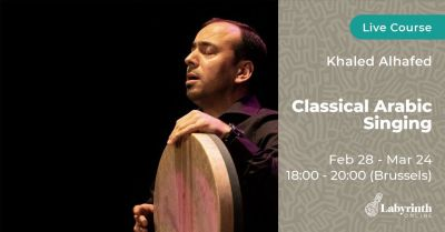 Classical Arabic Singing with Khaled Alhafed