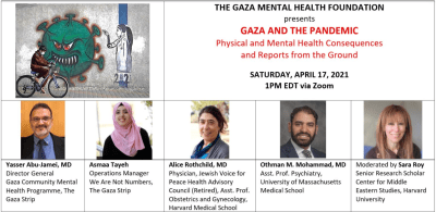 GAZA AND THE PANDEMIC: Physical and Mental Health Consequences and Reports from the Ground