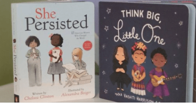 Women's History Month English-Arabic Storytime Online: She Persisted and Think Big, Little One
