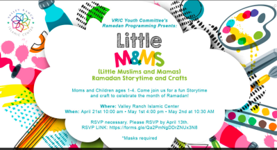 Little Muslims and Mamas -Ramadan Storytime and Crafts