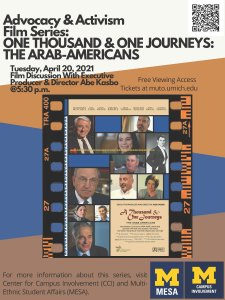 One Thousand & One Journeys: The Arab-Americans