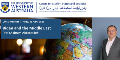 Webinar: Biden and the Middle East