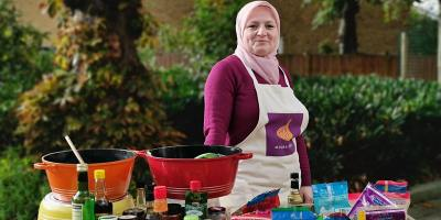 Syrian cookery class with Lina