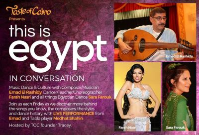 This is Egypt in Conversation Sabah Special