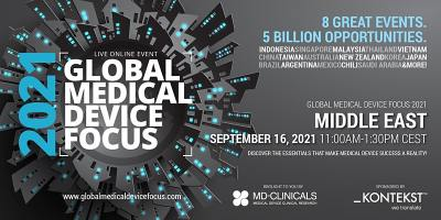 Global Medical Device Focus 2021: Middle East