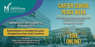 Reconciliation in Divided Societies: Perspectives from Arab Countries