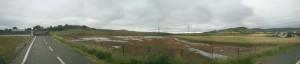 estado a 18-06-2012 del área excavada por el nuevo equipo que gestiona el yacimiento de Iruña Veleia
