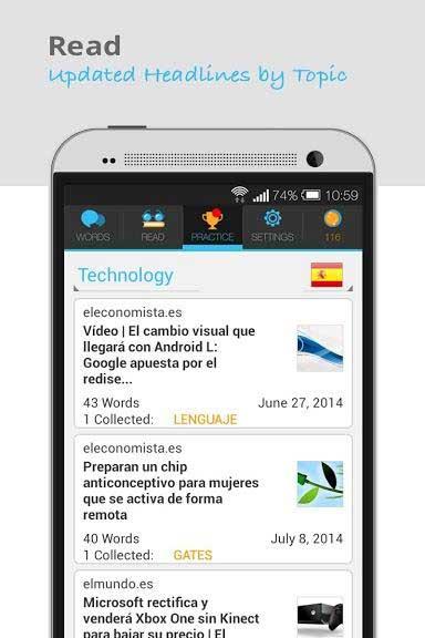 تطبيق Lingua.ly لتعليم اللغات بطريقة احترافية للأيفون والآندرويد
