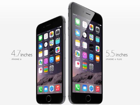 مقارنة بين جهاز الآيفون 6 و الآيفون 6 بلس