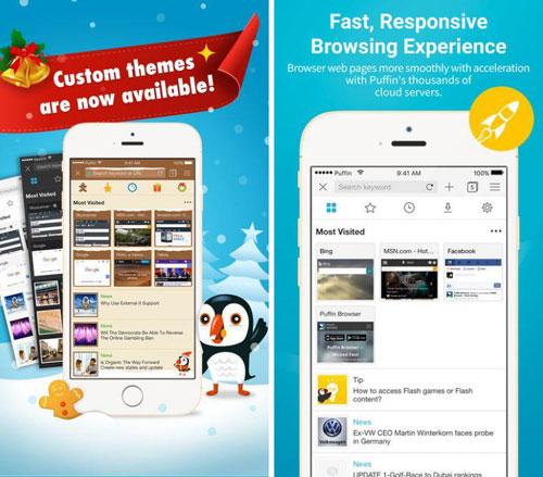 تطبيق Puffin Browser Pro لتصفح المواقع مع كثير من المزايا