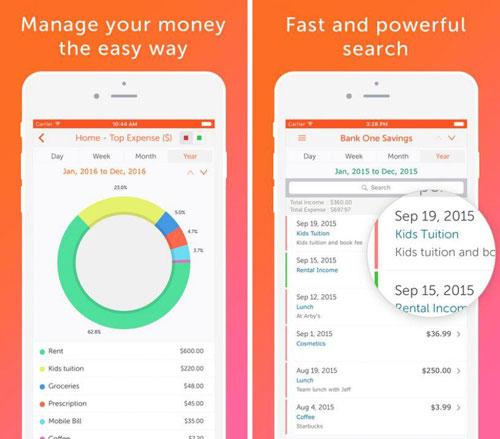تطبيق Easy Spending لإدارة مصاريفك اليومية