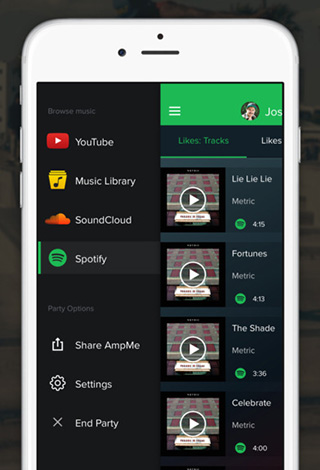 تطبيق AmpMe - حوّل أجهزتك و أجهزة أصدقائك إلى مكبرات صوت صاخبة !