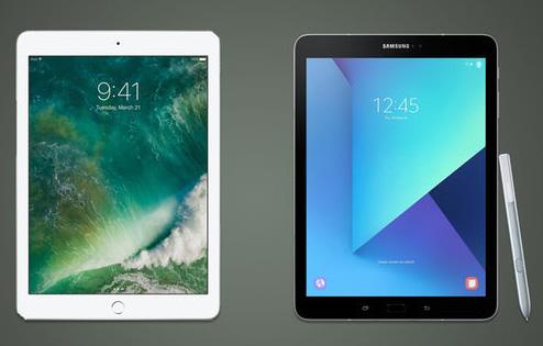 مقارنة - iPad 2017 ضد Galaxy Tab S3 : أيهما أفضل ؟!