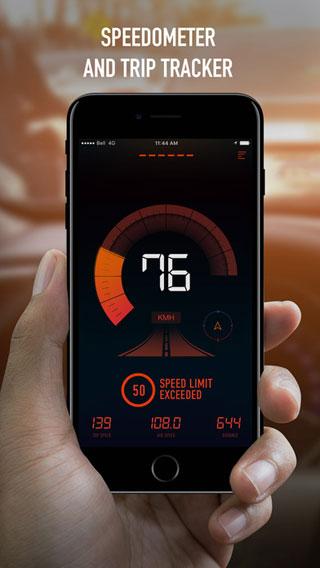 تطبيق SPEEDOMETER لقياس سرعتك