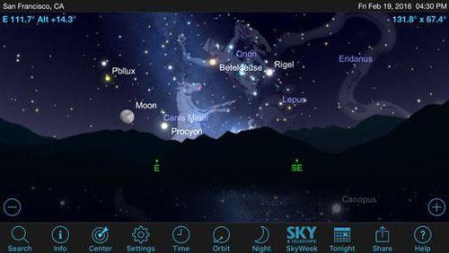 تطبيق SkySafari 5 لمحبي مراقبة الفلك