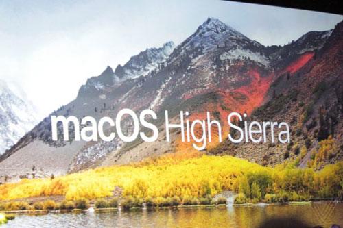 نظام macOS High Sierra الجديد
