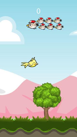 لعبة Flappy one bird كثير من التسلية والتحدي في مكان واحد