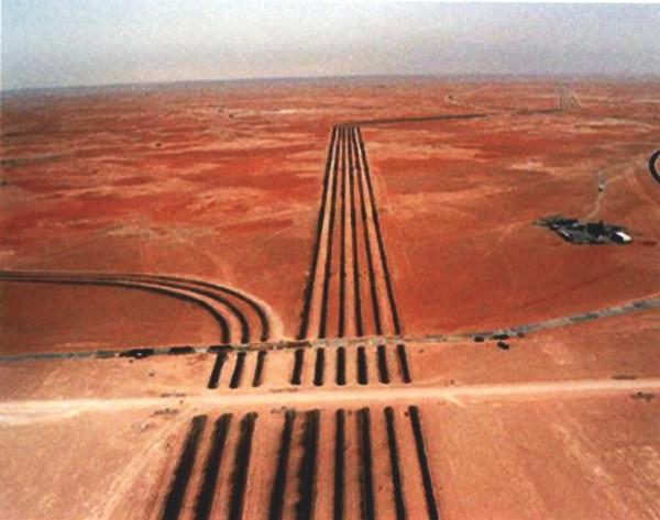 Berri to Khursaniyah Gas Pipeline Network