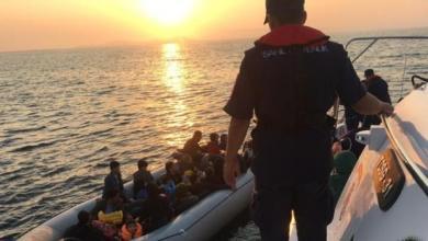 بينهم سوريون .. ضبط عشرات المهاجرين غربي تركيا 5
