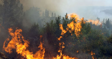Photo of اندلاع حريق مخيف…. عدم استطاعة فرق الاطفاء اطفاءه