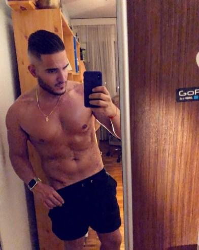 selfie beau gosse beur arabe 54
