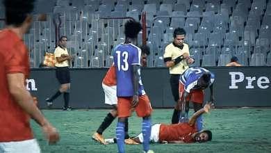 إصابة حسين الشحات