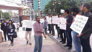 اضراب طلاب طب