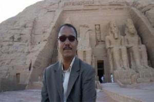 عالم المصريات الدكتور احمد صالح