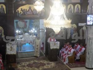 جانب من مراسم الإحتفال بعيد القيامة المجيد