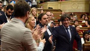SPAIN-POLITICS-INDEPENDENCE-PUIGDEMONT