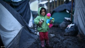 Harsh Winter Conditions For Those Living In The Migrant Camp In Dunkirk