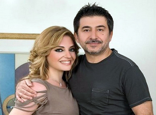 عابد فهد وزوجته زينة يازجي