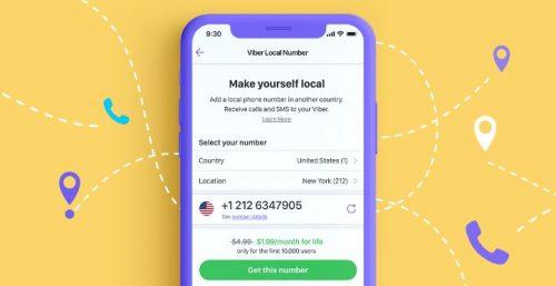 رقم وهمي لتطبيق Viber و whatsapp