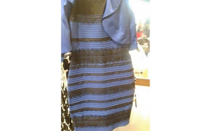 أين اختفى الفستان الذي حير الملايين في العالم؟